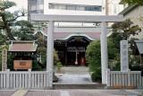 Sannomiya shrine in Kobe