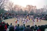 Korean New Year's day dancing Reala
