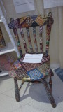 Decoupage Quilted Chair 100_0075
