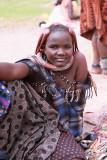 Himba steet vendor