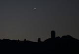 Venus Setting Behind Kitt Peak -- March 19, 2017