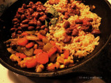 Spicy Beans and Rice.