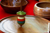 Wooden Spinning Top (toy)