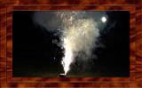 2017 Fireworks in Back Yard
