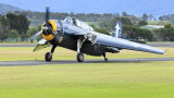 TBM Avenger with wings folding