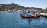 Mykonos fishing boats
