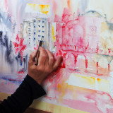 Concurs Pintura Rápìda Roser de Maig 2018