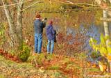 Snapping a shot at Delta Ponds
