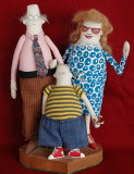 Ralph, Edith and Billy Joe Bob Fartingham. Cloth