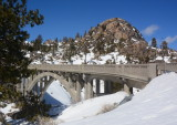 Historic Route 40 in the Sierra Nevada