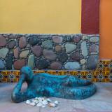 Courtyard art, Loreto