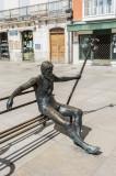 El Peregrino en la Plaza del Rey San Fernando