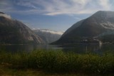 EARLY MORNING APPROACH TO EIDFJORD