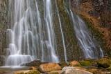 Les cascades du Hérisson / L'éventail