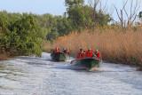 Balade en bateau dans le delta