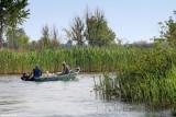 Sur les canaux dans le delta