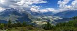 Vue sur le Sonnenplateau depuis le Simmering.