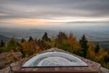 Vue depuis le Mont St Odile