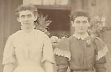 Sisters Vida and Adeline (Addie) Dunman