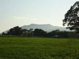 Must look up which hill that is - looking west from Whitbarrow Village