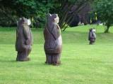 3 bears at Whitbarrow Village
