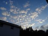 Pretty sky at Whitbarrow Village