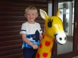 Finn at the Lake District Wildlife Park, Bassenthwaite