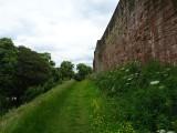 Carlisle Castle walls