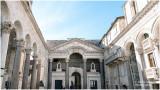 Split Croatie, le Palais Dioclétien.