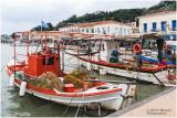 Dans le port de Katakolom (Grèce)