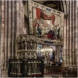 Cathédrale de Strasbourg (F) la Chaire.