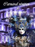 Carnaval Vénitien à Remiremont en 2018
