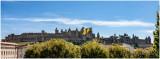Carcassonne, la Cité vue du Pont Vieux.