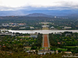 Canberra, view from Mt Ainslie