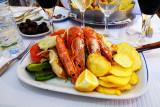 Shrimps On Bacalao