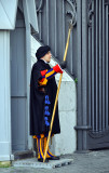 Pope's Swiss Guard in Vatican
