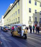 Taxi Cab in Lisbon