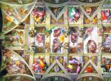 Ceilings of Sistine Chapel