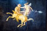 Fresco of Amazon Riding Centaurus