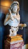 Commodus as Hercules in Palatine Museum