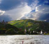 Sunset on the Rhein