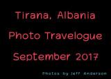 Tirana, Albania (September 2017)