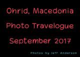 Ohrid, Macedonia (September 2017)