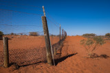 Dog Fence (at Cameron Cnr, the join of South Australia, New South Wales and Queensland)
