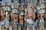 Temple de Mînâkshî  Madurai IMG_8002 detail.jpg