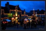 Christmas Market at Dusk.