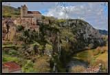 Saint-Cirq Lapopie and River Lot.