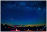 Public viewing field during Perseid Meteor Shower.
