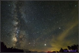 Milkyway was in full bloom August 11 at Cherry Springs State Park