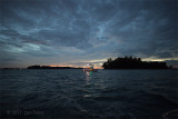 Dawn at Sisters' Islands